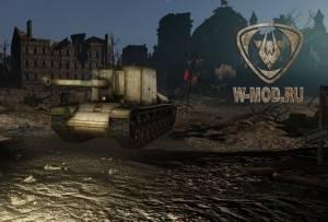 Су-100Y в ангаре к Дню Победы